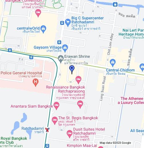ICT Thai Office - Google My Maps