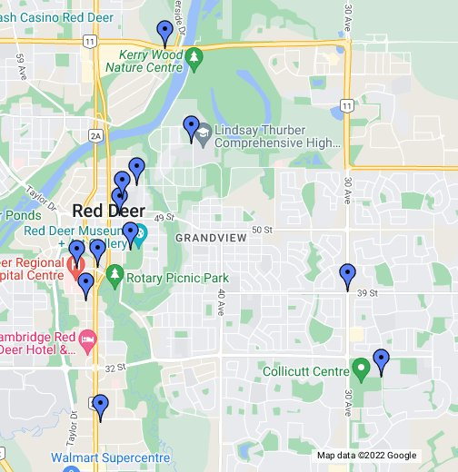 Red Deer, AB - Google My Maps on calgary flood map, calgary ca map, calgary maps and directions, calgary area map, calgary weather google, calgary alberta map, calgary map printable, calgary flooding 2013, calgary ontario map, calgary malls map, calgary map world, calgary lake co map, calgary map walmart, calgary on a map, calgary alberta canada,