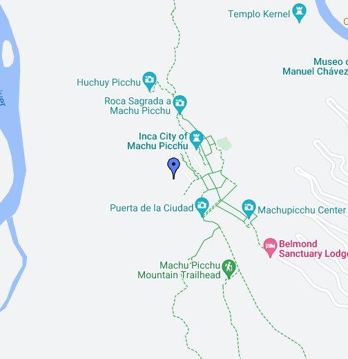 Peru Map Machu Picchu Machu Picchu   Google My Maps