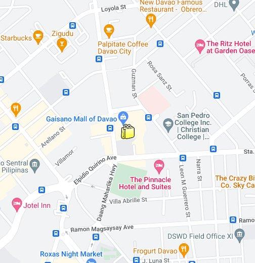 Gaisano Mall, Davao City - Google My Maps on