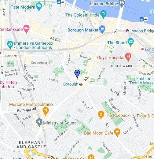 Guy\\\\\\\\\\\\\\\'s Hospital Map Christian Medical Fellowship   Google My Maps Guy\\\\\\\\\\\\\\\'s Hospital Map