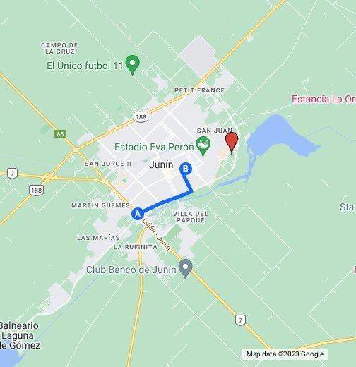 Colegio Marianista Junín - Junin argentina map