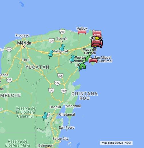 Aeropuerto De Canc 250 N Quintana Roo M 233 Xico Google My Maps