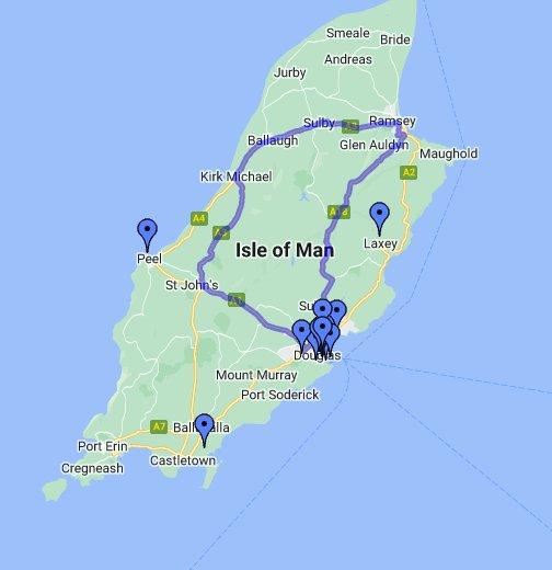 Isle Of Man Maps Isle of Man   Google My Maps