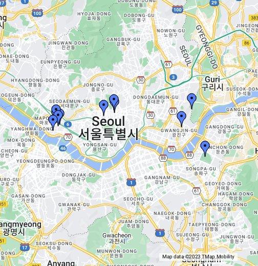 Seoulist: Vegan's Map of Seoul - Google My Maps on google maps seoul korea, tripadvisor seoul, google map korea english, google map south korea,