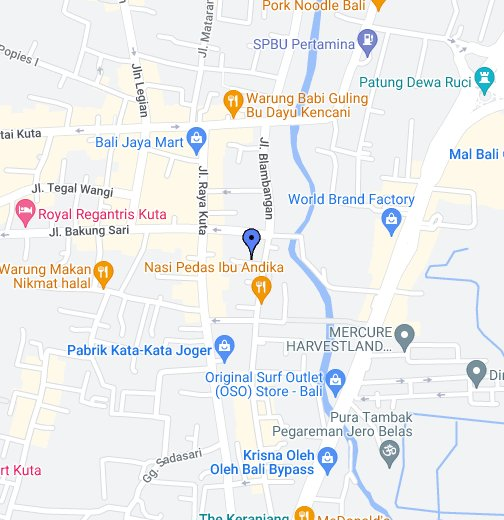 Kuta Bali Indonesia Google My Maps