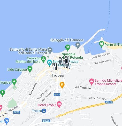Tropea Calabria Google My Maps