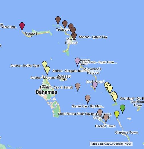 Shear Madness Bahamas Anchorages