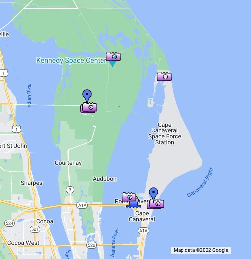Cape Canaveral - PlacesAroundFlorida.com - Google My Maps on myakka map, southwest gulf coast map, cape kennedy map, frostproof map, cape blanco map, cape hatteras map, canaveral groves map, beach in indialantic fl map, lake okeechobee map, gladeview map, cape cod map, great basin map, south daytona beach map, canaveral port authority map, florida map, canaveral barge canal map, st. augustine map, key west map, cape flattery map, the everglades map,
