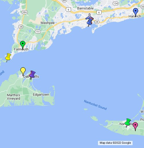 Martha\\\\\\\\\\\\\\\'s Vineyard Map Cape Cod, Martha's Vineyard & Nantucket   Google My Maps Martha\\\\\\\\\\\\\\\'s Vineyard Map
