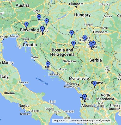 Certiadria Google My Maps