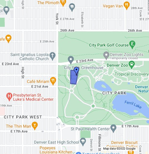 Denver City Park Tennis Courts Google My Maps