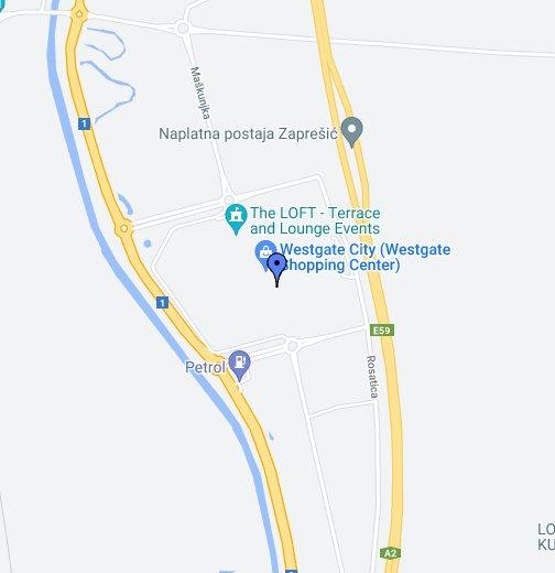 Westgate Shopping City Google My Maps