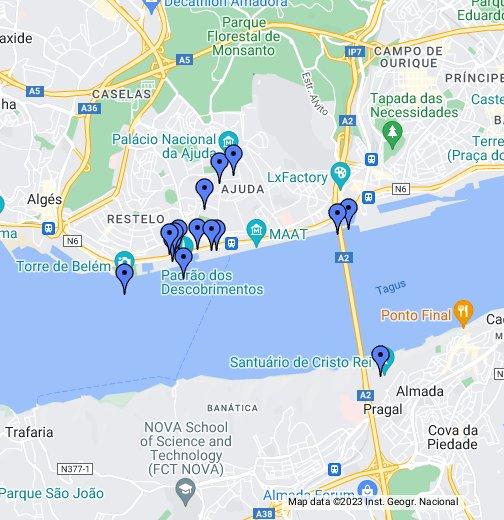 Belem district, Lisbon - Google My Maps on show map of portugal, description of portugal, detailed map portugal, interactive map of portugal, road map of portugal, printable map of portugal, google maps australia, mapa portugal, street map of lisbon portugal, weather of portugal, city of portugal, google maps france, large map of portugal, satellite view of portugal, virtual tour of portugal, products of portugal, simple map of portugal, google maps ireland, world map of portugal, google maps canada,