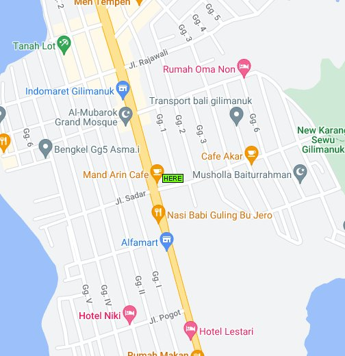 map of gilimanuk bali google my maps