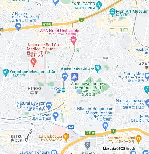 Switzerland Embassy Tokyo - Google My Maps