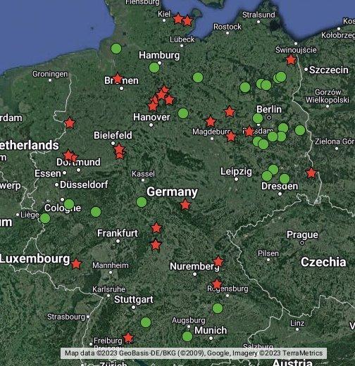 Truppen 252 Bungspl 228 Tze In Deutschland Training Areas