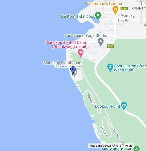 Slangkop Point Lighthouse, Kommetjie near Cape Town   Google My Maps