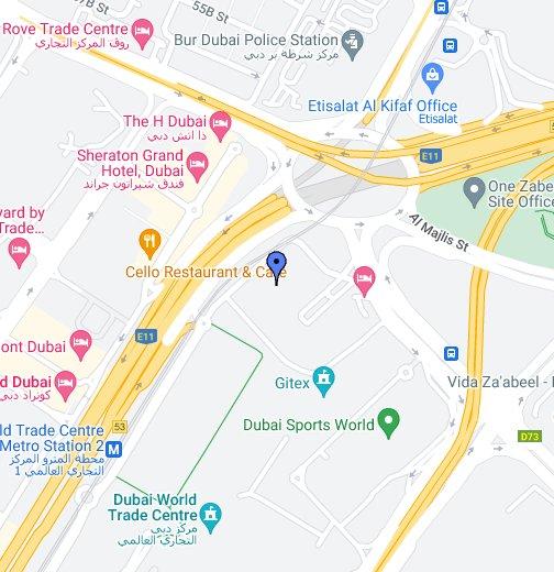 Dubai World Trade Centre - Google My Maps