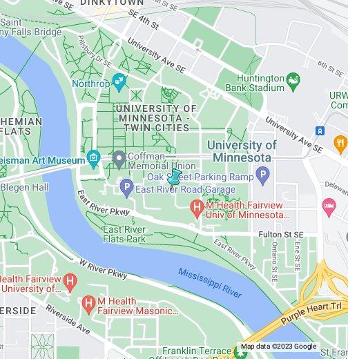 University of Minnesota   Google My Maps