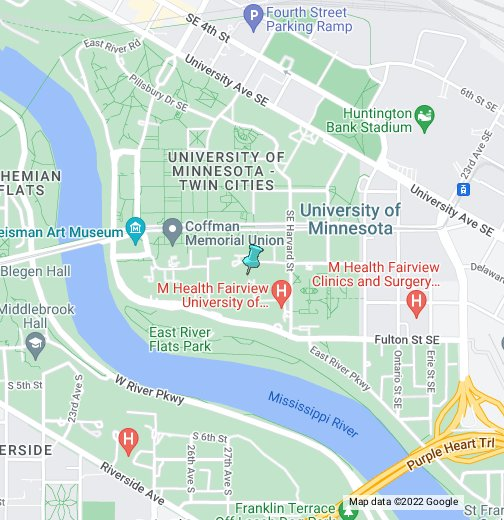 University of Minnesota - Google My Maps