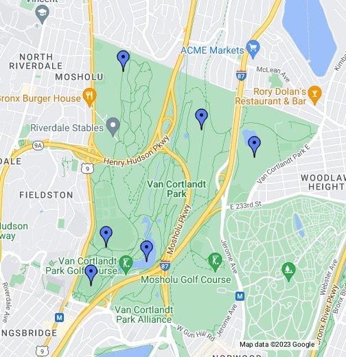 Van Cortlandt Park - Google My Maps