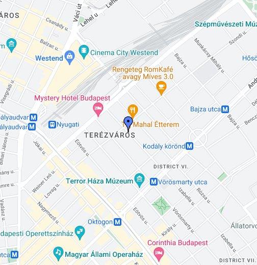 budapest izabella utca térkép Central Bútor   Pi Mobili – Google Saját térképek budapest izabella utca térkép