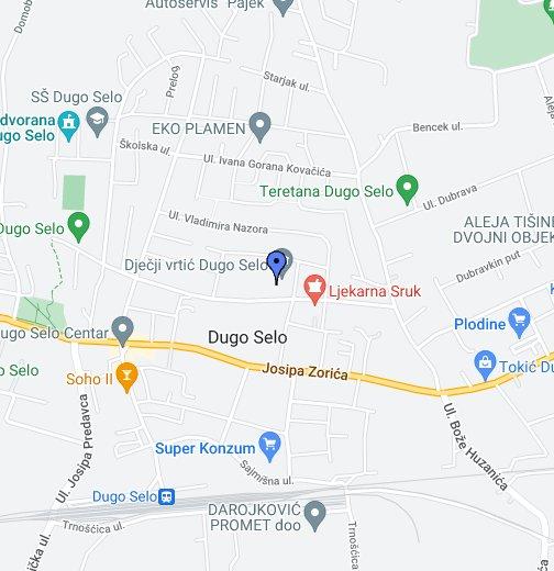 Dugo Selo Google My Maps