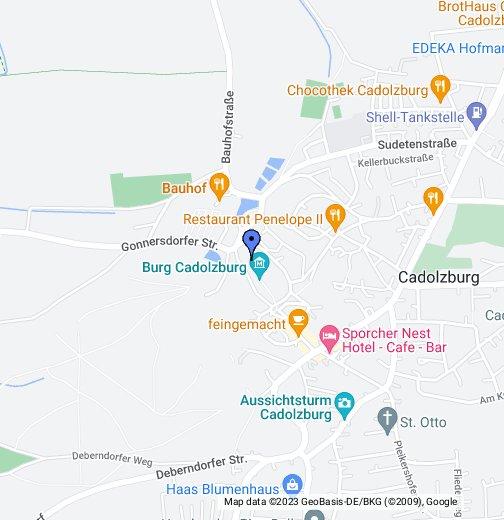 Burg Cadolzburg – Google My Maps
