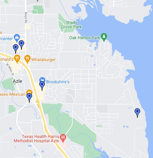 Where Is Azle Texas On The Map Business Ideas - Where is texas