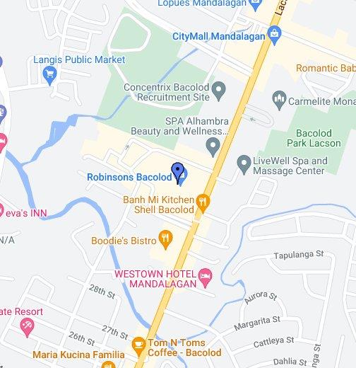Olympic Village Bacolod City - Bacolod map