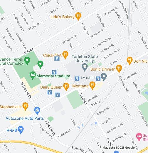Tarleton State Map.Tarleton State University Visitor Parking Google My Maps