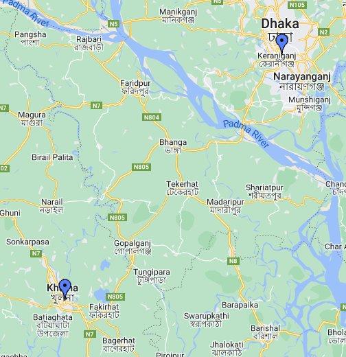 Dhaka - Google My Ma