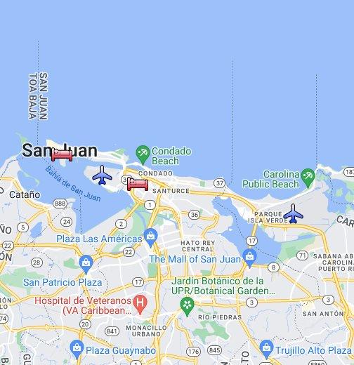 San Juan Puerto Rico Google My Maps