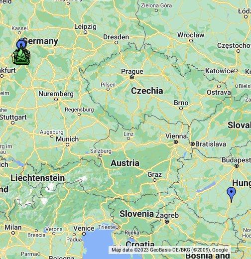 Burgenstadt Schlitz – Google My Maps