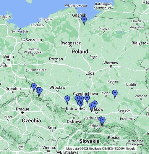 Mapa Google Białystok Mapa