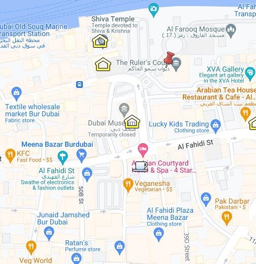 Dubai – Google My Maps