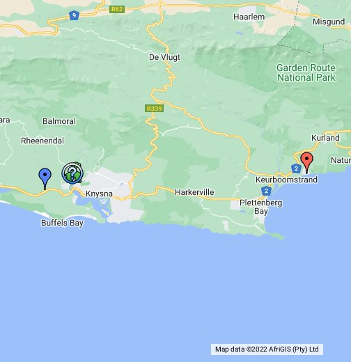 Knysna   Google My Maps