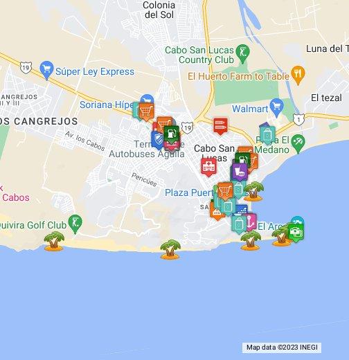 Cabo San Lucas - Google My Maps Cabo San Lucas Marina Map on