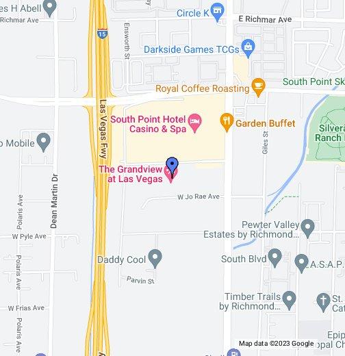 Grandview ResortsLas Vegas - Grandview las vegas map