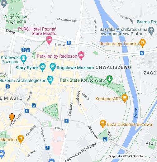 Poznań - Google My Maps