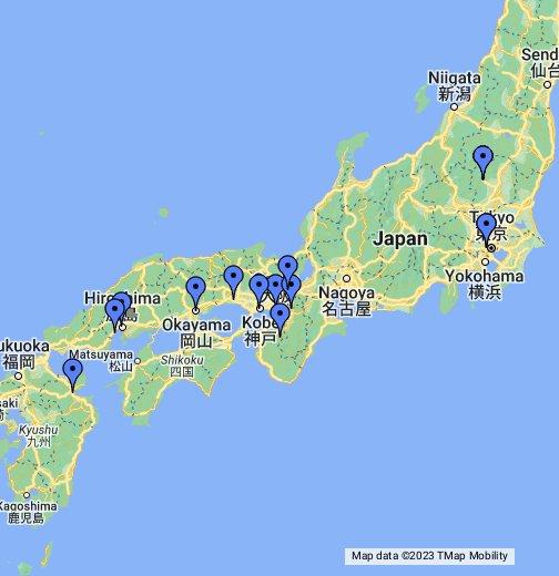 Cartina Del Giappone Politica.Giappone Google My Maps