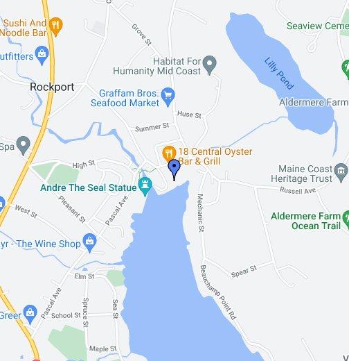 Rockport Maine Google My Maps