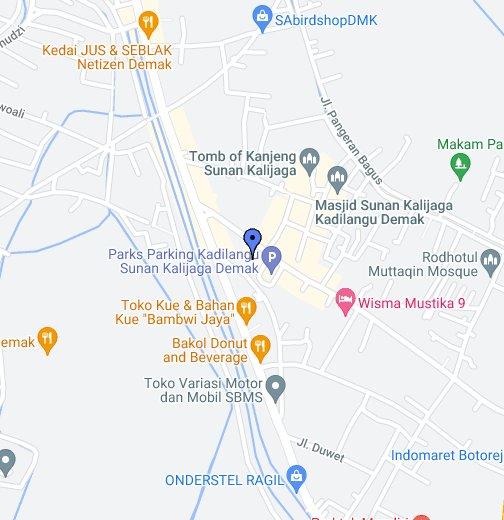 Lokasi Makam Sunan Kalijaga Google My Maps