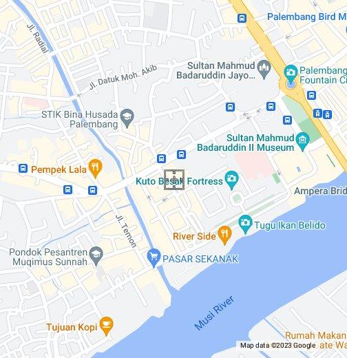 Palembang Google My Maps
