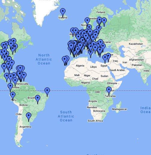 Mapamundi Google My Maps