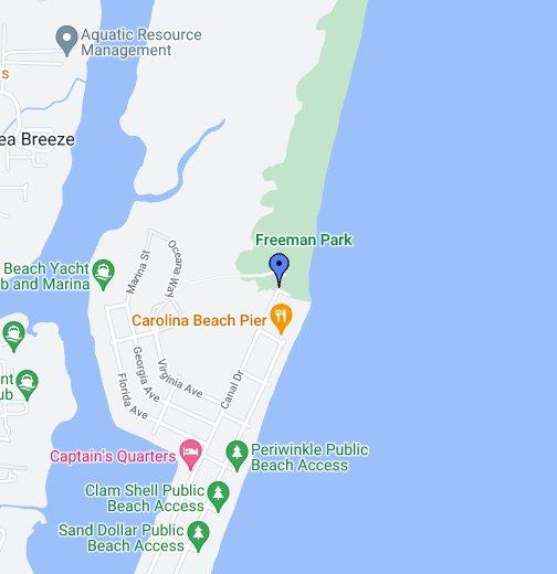 Freeman Park - The North End, Pleasure Island, NC - Google