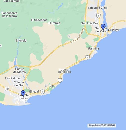 Cabo San Lucas - Google My Maps