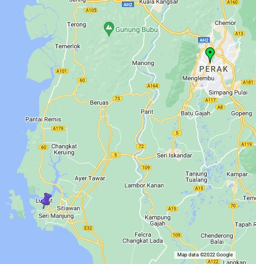 PERAK - Google My Maps
