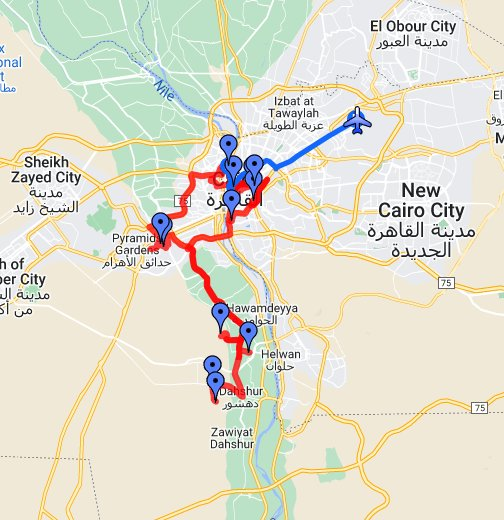 Cairo Egypt Google My Maps